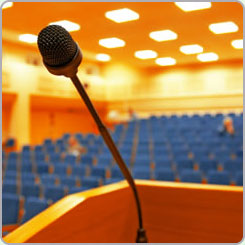 Conferences, training days, after dinner entertainment and to speak to any association or club